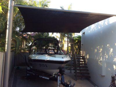 Parked Speedboat